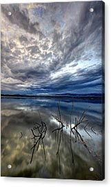 Magical Lake - Vertical Acrylic Print