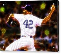 Magical Mariano Rivera Acrylic Print by Paul Van Scott