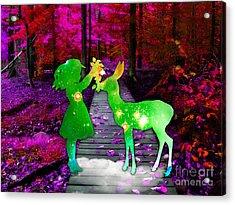 Magical Moments Acrylic Print by Marvin Blaine