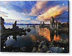Magical Mono Lake Acrylic Print
