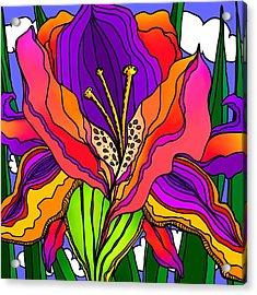 Magical Mystery Garden Acrylic Print