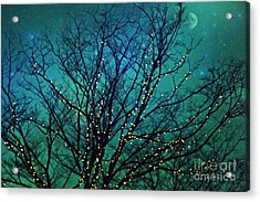 Magical Night Acrylic Print by Sylvia Cook