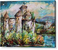 Magical Palace Acrylic Print