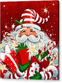 Magical Santa Acrylic Print
