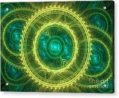 Magical Seal Acrylic Print by Martin Capek