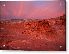 Magical Sunset At Little Finland Acrylic Print