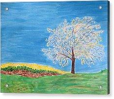 Magical Wish Tree Acrylic Print