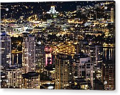 Acrylic Print featuring the photograph Magical Yaletown Harbor Mdxlix by Amyn Nasser