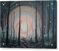 Magicle Forest Acrylic Print