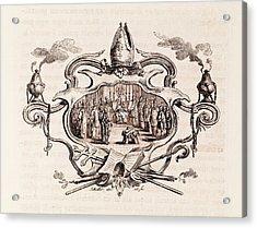 Magna Carta Excommunication Acrylic Print