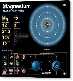 Magnesium Acrylic Print by Carlos Clarivan