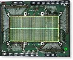Magnetic-core Memory Of Siemens Computer Acrylic Print