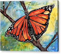 Magnificant Monarch Acrylic Print
