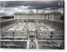 Magnificent Palace View Acrylic Print by Joan Carroll