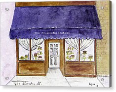 Magnolia Bakery In Greenwich Village Acrylic Print