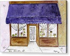Magnolia Bakery In Greenwich Village Acrylic Print