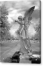 Magnolia Cemetery In Mobile Alabama Acrylic Print by Terry Reynoldson