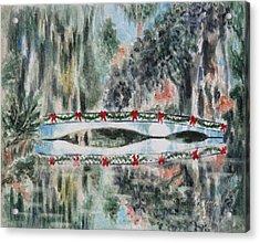 Magnolia Christmas Acrylic Print