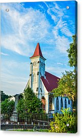 Magnolia Church Acrylic Print
