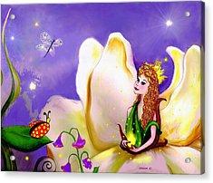 Magnolia Fairy Princess Acrylic Print