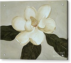 Acrylic Print featuring the painting Magnolia Wave by Nancy Kane Chapman