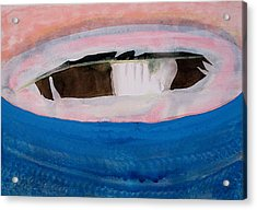 Magpie Original Painting Acrylic Print