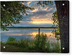 Acrylic Print featuring the photograph Magruder's Landing by Cindy Lark Hartman