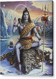 Mahadeva Shiva Acrylic Print