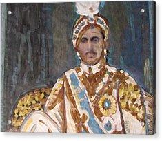 Maharaja Jai Singh Acrylic Print