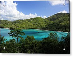 Acrylic Print featuring the photograph Maho Bay by Heather Green
