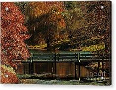 Mahoney State Park Acrylic Print by Elizabeth Winter