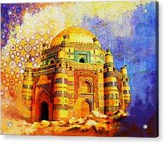 Mai Jwandi Tomb On Makli Hill Acrylic Print by Catf