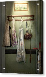 Maid - Always So Much Housework Acrylic Print by Mike Savad