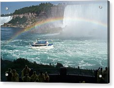 Acrylic Print featuring the photograph Maid Of The Mist -41 by Barbara McDevitt