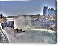 Acrylic Print featuring the photograph Maid Of The Mist by Jim Lepard