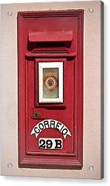 Mail Box 29b Acrylic Print