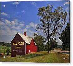 Acrylic Print featuring the photograph Mail Pouch Barn by Wendell Thompson