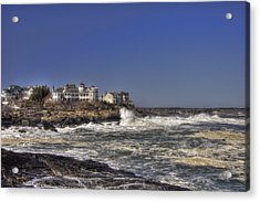 Main Coastline Acrylic Print by Joann Vitali