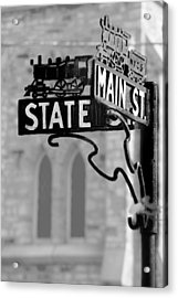 Acrylic Print featuring the photograph Main St IIi by Courtney Webster