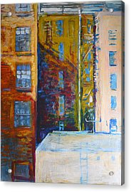 Main Street Los Angeles Acrylic Print by John Fish