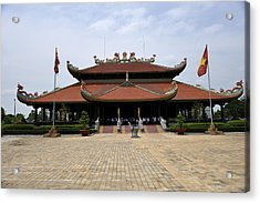 Main Temple Of The Ben Duoc Monument To War Martyrs. Cu Chi, Vietnam Acrylic Print by Sheldon Levis