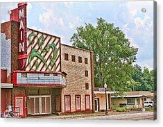 Main Theater Acrylic Print