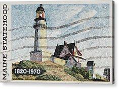 Maine 1820-1970 Acrylic Print