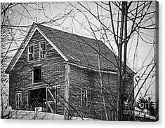 Maine Barn Acrylic Print