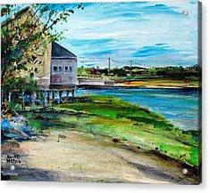 Maine Chowder House Acrylic Print by Scott Nelson