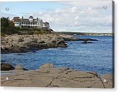 Maine Coastline Acrylic Print