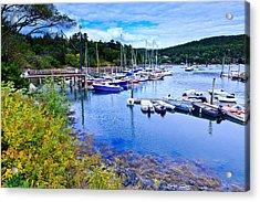 Maine Harbor 2 Acrylic Print