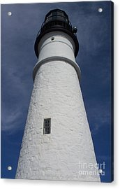 Acrylic Print featuring the photograph Maine Lighthouse by Gena Weiser