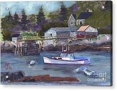 Maine Livin' Acrylic Print