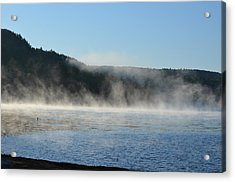 Acrylic Print featuring the photograph Maine Morning by James Petersen